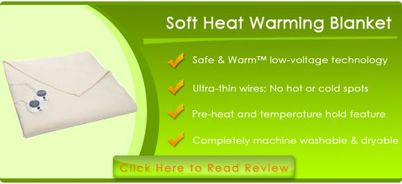 Soft Heat Electric Heated Warming Blanket